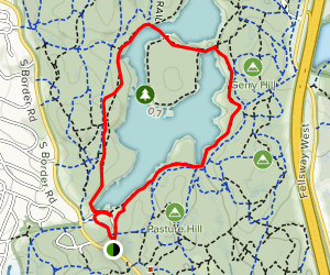 South Reservoir Loop Map