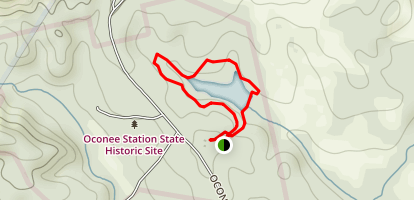 Oconee Station Nature Trail Map