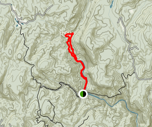 Chattooga Gorge Trail Map