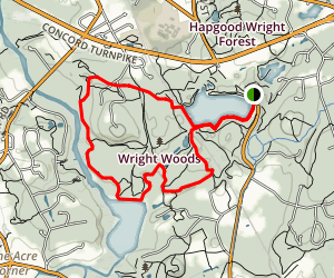 Fairhaven Trail Loop Map