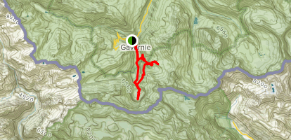 Le Cirque de Gavarnie Map