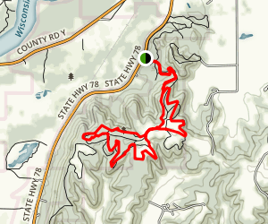 Blackhawk Ridge Trail Map