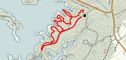 Striper Cove Trail Map