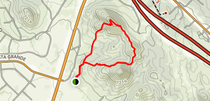 Bishop's Peak [PRIVATE PROPERTY] Map