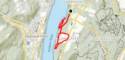 Arden Point and Glenclyffe Map