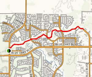 Pleasant Grove Creek Trail Map