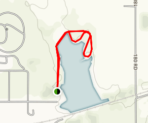 Rocky Pond Trail Map