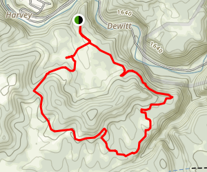 Charly Camp Loop Map