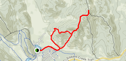 Ole Buck Mountain Map