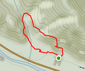 Andy Cove Trail Map