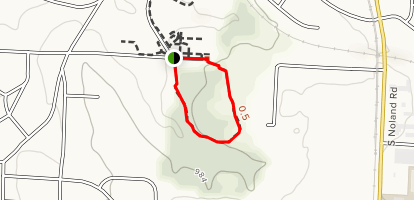 Lipton Conservation Area Nature Trail Map