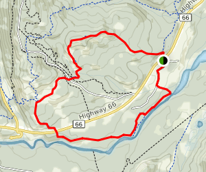 Elbow Valley Trail to Riverview Trail Loop Map