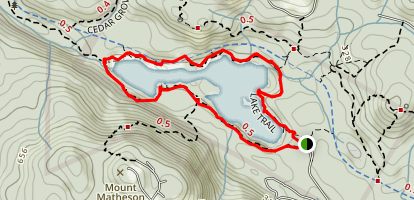 Matheson Lake Loop  Map