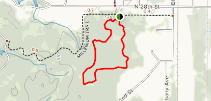 Outer Red Ski Trail Map