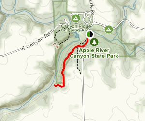Tower Rock Nature Trail Map