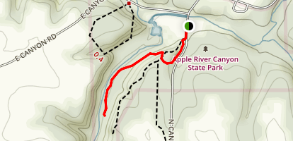 River Route Nature Trail Map
