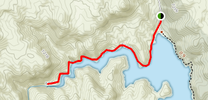Cheesman Reservoir Map