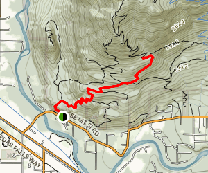 Mount Si Douglas Fir Trail Map