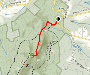 Backside Trail  Map