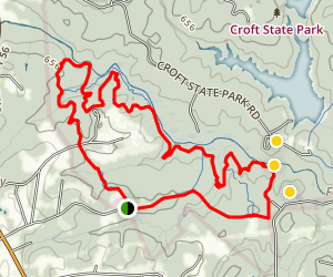 Soutside Loop Trail Map