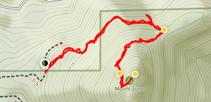 Mount June Trail Map