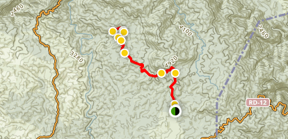 La Sal Trail Map