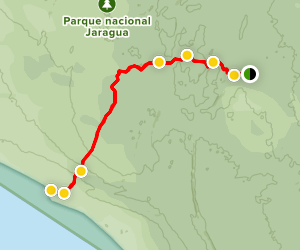 Trudillé Beach Trail Map
