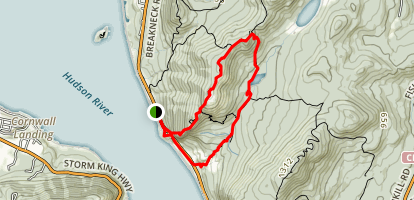 Breakneck Ridge Trail Map