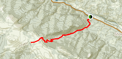 Ben Tyler Trail Map