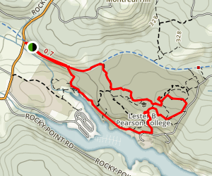 Galloping Goose to the Milky Way and the Barde Knockie Trail Map