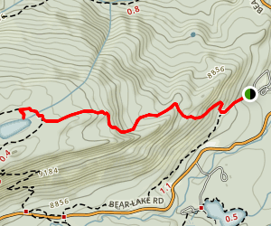 Bierstadt Lake Trail Map