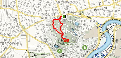 Mount Auburn Loop Map