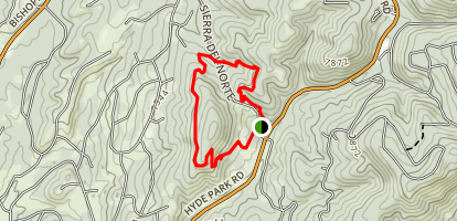 Dale Ball Trails South Map