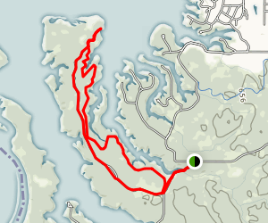 Outer Yellow Ski Trail Map
