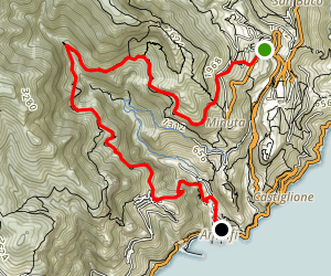 Scala, Pogerola, Amalfi Map