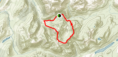 Ring of Steall Map
