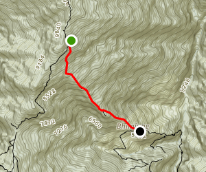 Low Camp to Sidhing Map