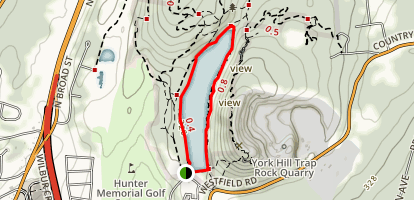 Bradley Hubbard Reservoir Loop Map