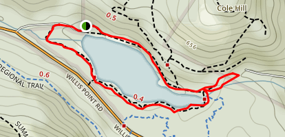 Durrance Lake Map