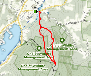 Cheshire Cobbles Loop Map