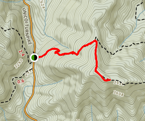 Rocky Mountain via Appalachian Trail Map