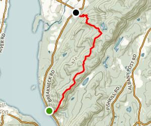 Breakneck Ridge Trail to Mount Beacon Trail Map