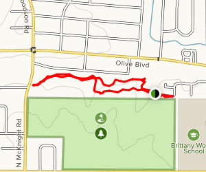 Ruth Park Nature Trail Map