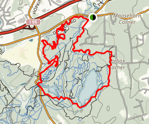 Big River Mountain Bike Loop Map