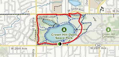 Crown Hill Outer Loop Map