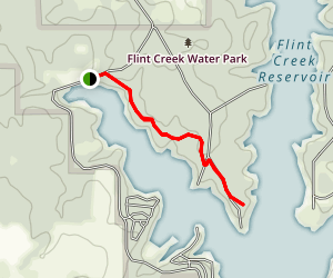 Flint Creek Water Park Nature Trail Map