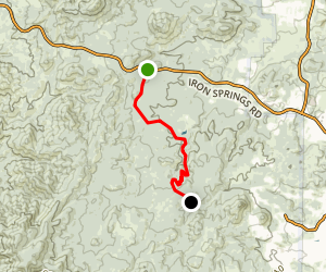 Prescott Circle Trail: Segment 02 Map