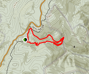 South River Falls Trail Map