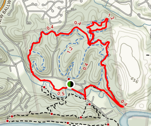 Grotpeter Trail Map