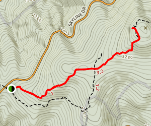 Hightop Trail Map
